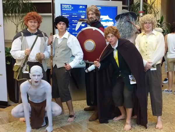 Hobbits at @DragonCon http://t.co/AREJGiycce