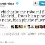 RT @lntratable: SE FILTRA TWEET DE FALCAO AL ENTERARSE DEL FICHAJE DE CHICHARITO. http://t.co/O2cqxZPXJ0