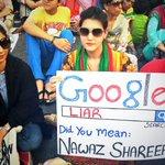 Gotta share this awesome poster again by Zarlasht Altaf - Google it! #GoNawazGo http://t.co/PNNNdTtSZg