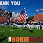 RT @VT_Football: Thank you to the best students and fans in the country!! #HokieNation made sure the season got started the right way http://t.co/N5ZLWpmU09