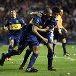 RT @BocaJrsOficial: #VamosBoca Postales de una tarde de desahogo en la Bombonera. Boca volvió al triunfo y suma 6 puntos. Fiesta. http://t.co/Z1UycOQecR