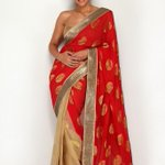 RT @mandiradesigns: Our #DrapeOfTheDay is this red brocade saree,a perfect outfit for an upcoming sangeet function http://t.co/gs4Z5IZr5a h…