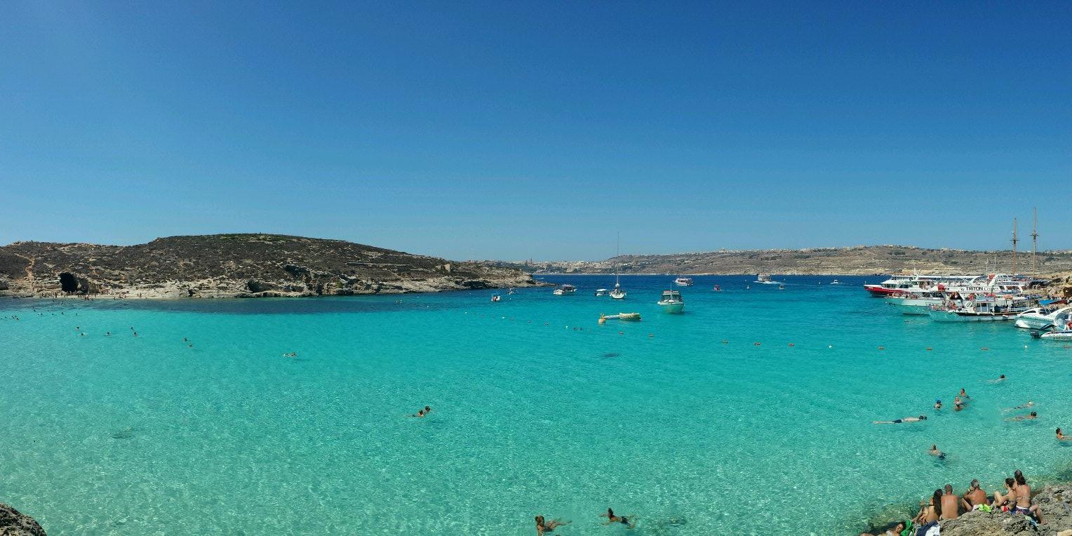 RT @MindTheTrip: #scappoA Blue Lagoon Beach! Eravamo lì l'altro giorno per #maltaintrip ma già la rimpiangiamo @lonelyplanet_it http://t.co/Q00irND6oJ