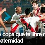 RT @Riverplatecom: Otra vez será, San Lorenzo... #Riverplate ganó los 3 duelos del año y prolongó su paternidad: http://t.co/WOv6lnNOao http://t.co/8LwFjGRNFA