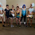 Yep, this is happening. #Dbacks Rookie Dress Up Day. http://t.co/ENGc9wOMh2
