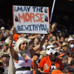 RT @SFGate: On Star Wars Day at AT&T Park, the force was with the #SFGiants for a 6th straight win: http://t.co/mmwgst86XN http://t.co/gncoCoLTgN