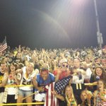 The student rooting section at Del Oro on Friday was terrific.Show us your crowd shots @delorofootball @BeePrepsShow http://t.co/jLGyPvmb2b