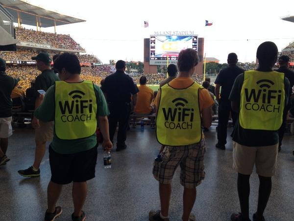 New piece of customer service at McLane Stadium http://t.co/YCscwzvVYR