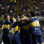 """""""Que gane Boca y todo el año es carnaval"""". La foto que resume este domingo bien bostero: http://t.co/xFOZR37lGE"""