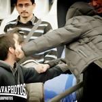 RT @barrabravphotos: incidentes hoy en el partido Universidad Católica - OHiggins http://t.co/iee5mCB5xl