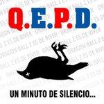 RT @EnzooPortillo: UN MINUTO DE SILENCIO. *sshhh* PARAAA EL CUERVO QUE ESTAA MUERTOO EEAEAAEEAA ♪ http://t.co/r5czNVB5yj