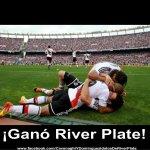 ¡GANÓ EL MILLONARIO! River goleó a San Lorenzo por 3-1 con goles de Matos; Piscu, Teo y Boyé en el Nuevo Gasómetro. http://t.co/xISc8wzyia