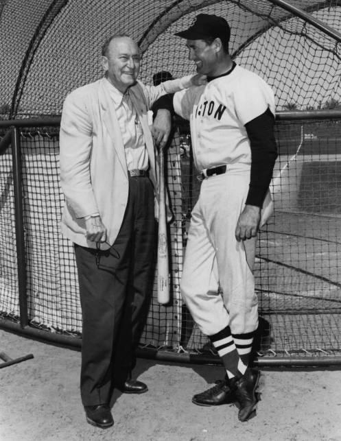 Two of the Greatest Ever, Ty Cobb and Ted Williams. http://t.co/vYpX4ZfRyK