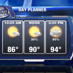 Labor Day will feature lots of sunshine and afternoon storms. John Scalzi has the forecast on Good Morning Suncoast http://t.co/iLxRpdyt7m