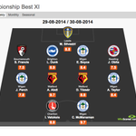 """""""@WhoScored: Championship Team of the Week - http://t.co/60kbGwyUSy"""" Obitas first game back at LB and hes in TOTW. Says a lot. #readingfc"""