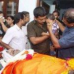 RT @BeingReva: RSS worker Suresh, brutally murdered by CPM Kerala. His son & swayamwevaks paying Andhya Pranam #CommunistTerrorism http://t.co/wfvnbrcGpB