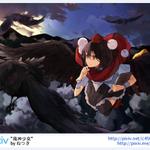 "RT @pixiv_en: Lovely! ""風神少女"" by ねつき - http://t.co/NF8fMtDpTA #pixiv http://t.co/T2YPv1ycuf"