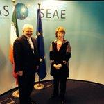 #EU High Rep #Ashton welcomes #Iran FM @JZarif to @eu_eeas for talks in framework of nuclear negotiations #IranTalks http://t.co/FNYbPOvjwp