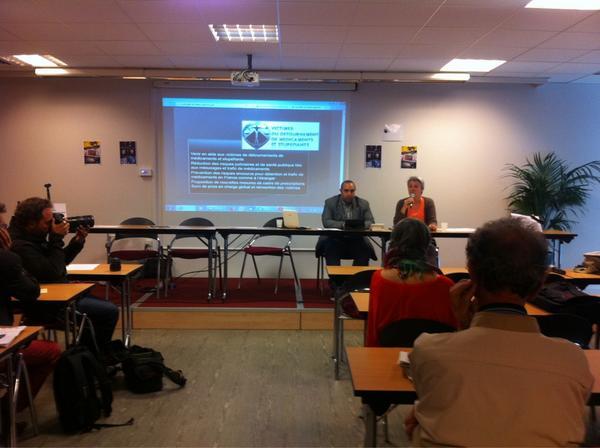RT @c_monteagudo: Conférence de presse au sujet d Aurore Gros-Coissy, victime du #Subutex http://t.co/Wej4W1FsO5