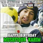 Happy Birthday Mushi ^_^ The captain of #Bangladesh cricket team. . . Greetings from #SriLanka http://t.co/YYdgpYU6f1