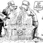 RT @PatChappatte: Obama challenged - © Chappatte in NZZ am Sonntag, Zurich http://t.co/WXxalKeprz
