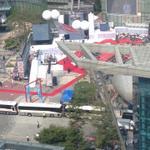 RT @mediatodaynews: 일반인들의 출입이 통제된 가운데, 박근혜 대통령이 참석하는 MBC 상암 시대 개막 행사가 열리고 있습니다. 그들만의 방송? http://t.co/yDGsfQZxgD