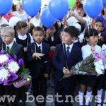 Сегодня в школах #Казахстана проходит День знаний. Фото #kaz #KAZ #KZ #kz http://t.co/TVfClg7hsa http://t.co/3yggXGDIfl