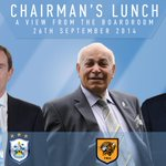 RT @townfoundation: Dean Hoyle hosts his Chairmans lunch on 26th Sept. Book now to avoid disappointment! #HTAFC http://t.co/csTcrRKpOf http://t.co/Qmli7IauPO