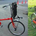 【防災の日】車椅子にトランスフォームする自転車「Q-jo」 http://t.co/h80ZGOeava 東日本大震災で犠牲になった高齢者や身体障がい者に避難の手段を作れなかったかと考えたことが、開発のきっかけになったという。 http://t.co/KZhUl9wcwV