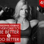 RT @48fitness: Challenge yourself everyday to be better and do better. #48Fitness #Motivation #Mumbai http://t.co/9ugCGP5tok