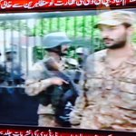 """""""@arsched: #PakistanArmy takes control of #PTV security after protestors stormed it. #Pakistan http://t.co/UZDEbmgY6Q"""" Lol!"""