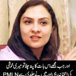 Realty of @marvi_memon in #PMLN , I wrote it many time that she is nothing more then a political prostitute. #PTI http://t.co/GJwINv71hW