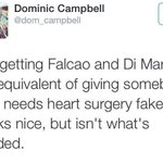 BRILLIANT: Manchester Uniteds signings summed up in one tweet. http://t.co/duQoG8s0Xq