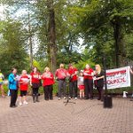 Whats Labour Day without some awesome singing? #internationale #solidarity #canlab #unifor @UniforTheUnion http://t.co/mGHW9kPJWA