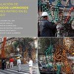RT @ManceraMiguelMX: Como cada año, instalamos los mosaicos luminosos con motivo de las fiestas patrias en la Plaza de la Constitución #mm http://t.co/wB7CKzQUEE