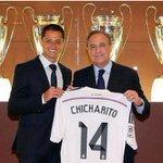 RT @deejayfaremi: Real Madrids new No 14, Javier Hernandez. Welcome Lil Pea http://t.co/HoZjG3uLYl