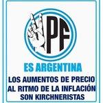 RT @aloMecha: Por séptima vez en el año, YPF remarcó 4% el precio de las naftas...PERO TENEMOS PATREA! http://t.co/vXy69zUWPN