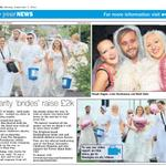 RT @Rockinghorse67: Check out p.9 of @brightonargus for coverage of @Hen_Heaven #bridal #charity walk which has raised £2k! #Brighton http://t.co/IEWd4BIpag