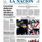 RT @infobae: <DIARIOS> Esta es la tapa de La Nación de hoy --> http://t.co/NpeLTYAeeY http://t.co/28tX3eKyQy