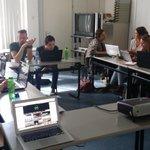 Eerste dag voor de nieuwe #projectOI #fhj studenten http://t.co/0mSmAfRXkX