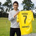 RT @Squawka: Shinji Kagawa is to wear the number 7 shirt at Borussia Dortmund. #BvB http://t.co/Lq8qvKMNPP