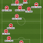 A new formation for Louis Van Gaal and @ManUtd? [via @craigtoshcfc] http://t.co/0Y1EV231Fw