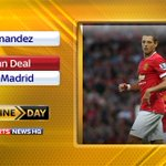 RT @SkyFootball: Javier Hernandez could complete a loan move to Real Madrid. More here: http://t.co/7pzyO1P2j2 #SkyDeadlineDay http://t.co/CBDlB9TLnv