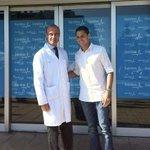 Javier Hernandez in Madrid having medical.. http://t.co/seAeLhTQVO