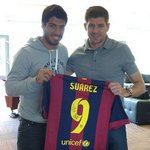 "RT @LivEchoLFC: Luis Suarez returns to Melwood ""bearing gifts"" on #transferdeadlineday: http://t.co/2R0Y26H9YM http://t.co/TBa4r11xrO"