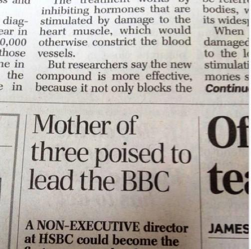 IDIOT HEADLINE MT @arobertwebb: Father of two hopes Daily Telegraph subs will one day get a grip http://t.co/EWIFceDSwk