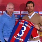 2 days after his debut, Xabi Alonso has been unveiled as a Bayern Munich player. #FCB http://t.co/JWNqSEb4YD