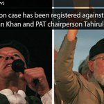 RT @etribune: (Live) Treason case filed against Imran Khan and Tahirul Qadri in the local police station http://t.co/TiEWjuYBRG http://t.co/WchZ7TX4Nf