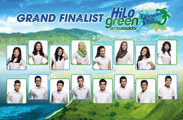 Inilah 16 Grand Finalist @HiLo Green Ambassador 2014: Exploring Pulau Komodo! #HGA http://t.co/JxfcxAOwAu