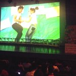 Happening now. Music video of DJ and Bebe Kath. #HimigHandog2014Presscon http://t.co/lUG1wrRdNu